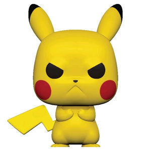 Pokemon - Pikachu Grumpy Pop! Vinyl
