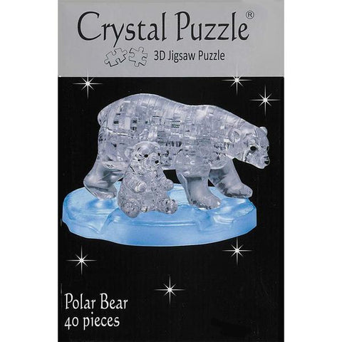 3D Crystal Polar Bears Puzzle