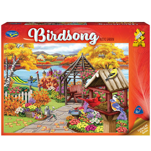 Holdson - Birdsong - Rustic Garden 1000pc Puzzle