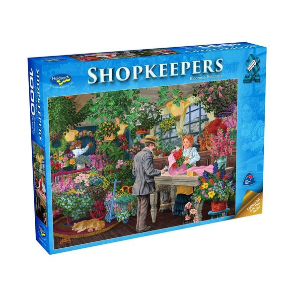 HOLDSONS SHOPKEEPERS BLOOMS & BOUQUETS 1000pc Puzzle