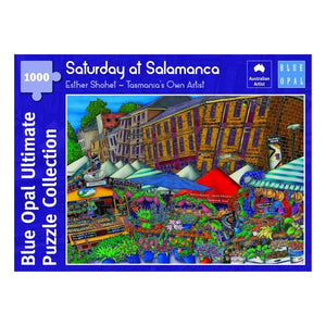 Blue Opal - Esther Shohet Saturday at Salamanca 1000pc