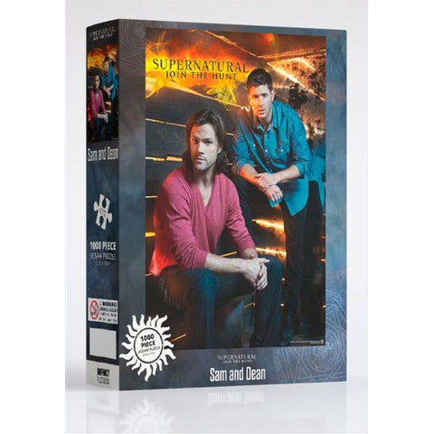 Supernatural - Sam And Dean 1000pc Puzzle