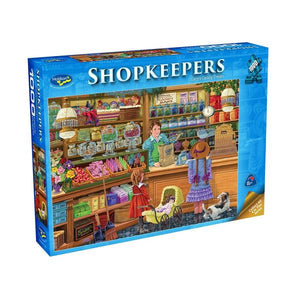 HOLDSONS SHOPKEEPERS CARY'S CANDY 1000pc Puzzle