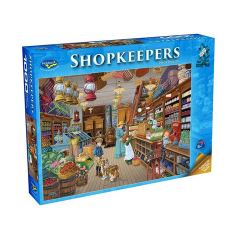 HOLDSONS SHOPKEEPERS POST & POPCORN 1000PC PUZZLE