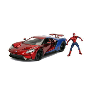 Spider-Man - 2017 Ford GT 1:24 Scale Diecast Vehicle