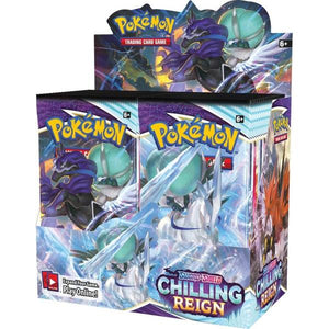 POKÉMON TCG Sword and Shield - Chilling Reign Booster Box - Limit 2 per customer