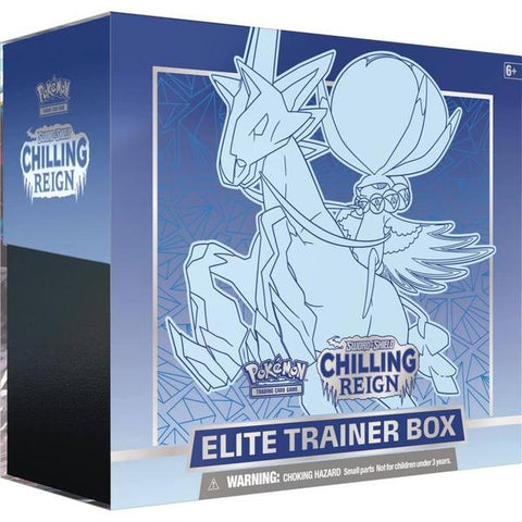 POKÉMON TCG Sword and Shield - Chilling Reign Elite Trainer Box - Limit 2 per customer