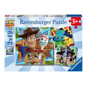 Ravensburger - Disney Toy Story 4 Puzzle 3 x 49pc