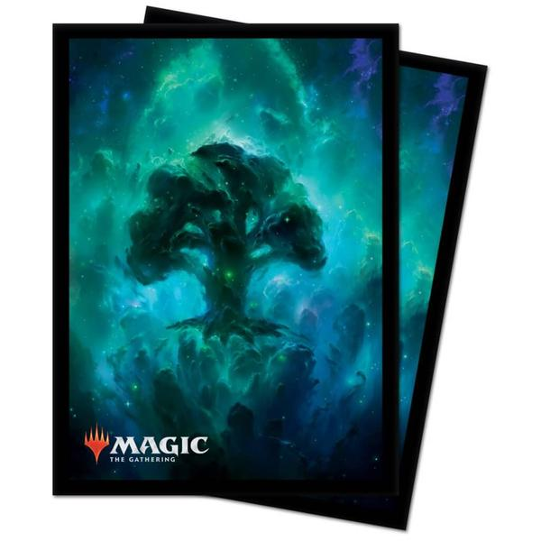 ULTRA PRO Magic: The Gathering - DECK PROTECTOR- Celestial Lands - Forest 100ct