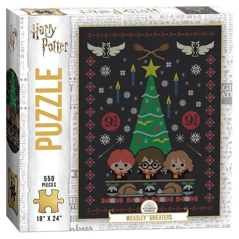 USAOPOLY Puzzle Harry Potter Weasley Sweaters Puzzle 550 pieces