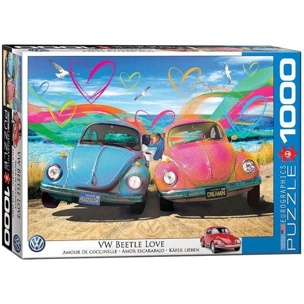 Eurographics VW Beetle Love 1000 Piece Puzzle