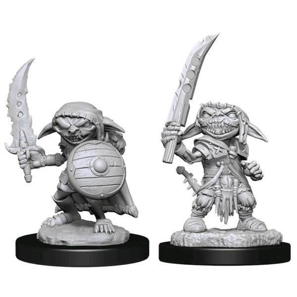 Pathfinder - Deep Cuts Unpainted Miniatures: Goblin Fighter Male