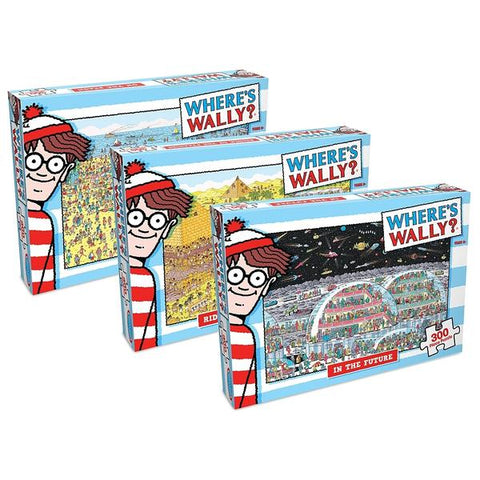 Where's Wally 300pce Puzzle (3 Asst)