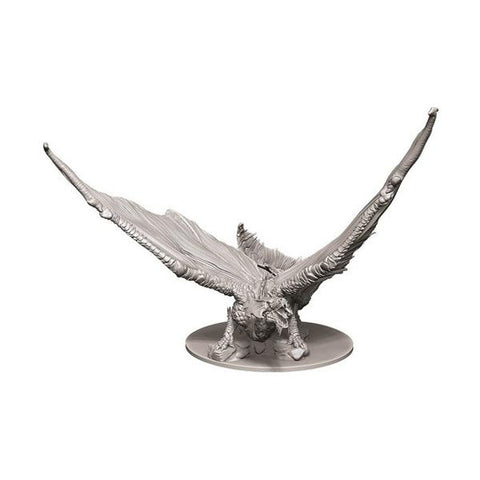 D&D - Unpainted Young Brass Dragon