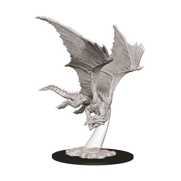 D&D - Unpainted Young Bronze Dragon