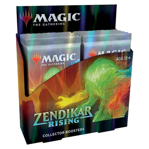 Zendikar Rising - Collector Booster Box - delayed upto 2 weeks