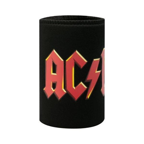 ACDC Can Cooler Logo Red