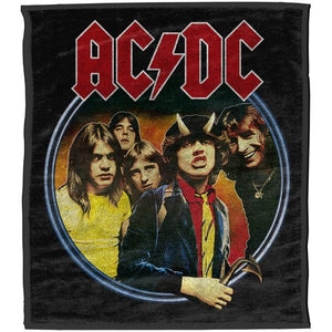 ACDC Highway to Hell Throw Rug
