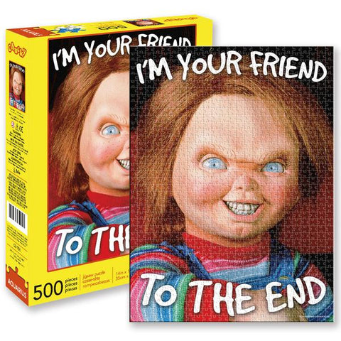 Aquarius Puzzle Chucky 500pc Puzzle