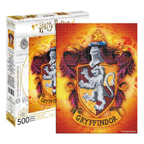 Aquarius Puzzle Harry Potter Gryffindor 500pc  Puzzle