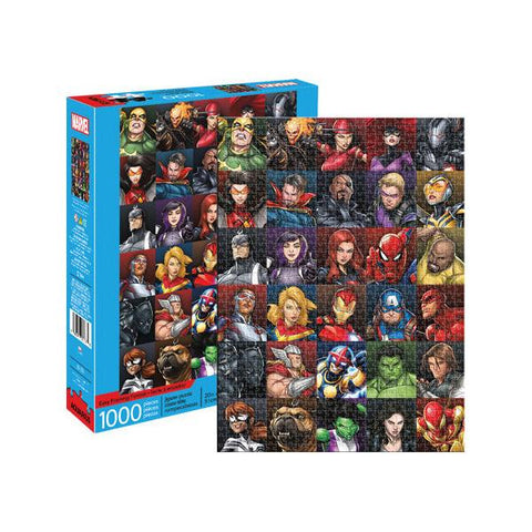Aquarius Puzzle Marvel Heroes Collage 1,000 pieces Puzzle