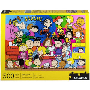 Aquarius Puzzle Peanuts Cast 500 pieces Puzzle