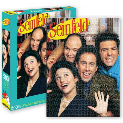 Aquarius Puzzle Seinfeld Group 500 pc Puzzle