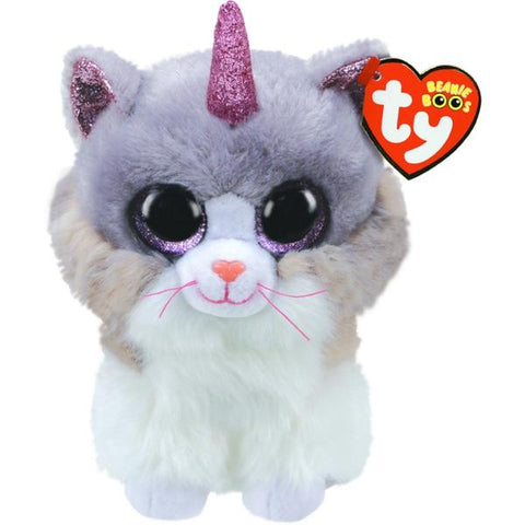 Beanie Boos Asher Cat With Horn Medium