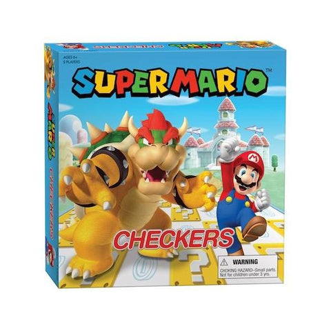 Checkers Super Mario V Bowser