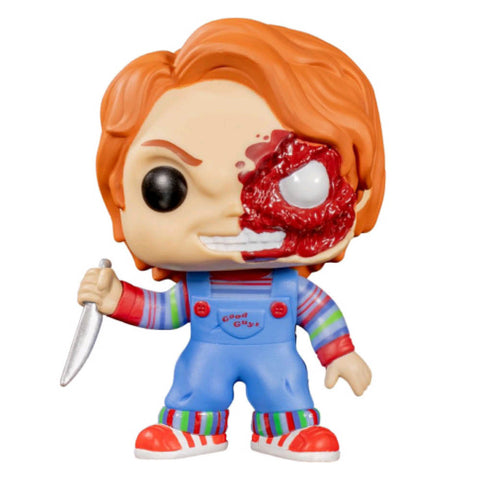 Child's Play - Chucky Half BD Pop! Vinyl