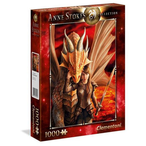 Clementoni 1000pce – Anne Stokes – Inner Strength Dragon