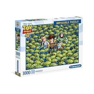 Clementoni Puzzle Disney Toy Story 4 Impossible Puzzle 1,000 pieces