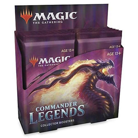 Commander Legends - Collector Booster Box - Free delivery - Limit 2 per customer
