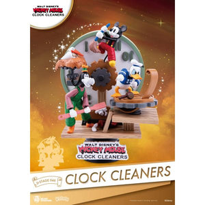 Beast Kingdom D Stage Disney Mickey Mouse Clock Cleaners