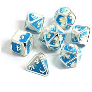 Die Hard Dice Metal RPG Set - Spellbinder Polar Vortex