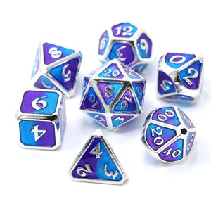 Die Hard Dice Metal Set Polyhedral - Spellbinder Nightfall