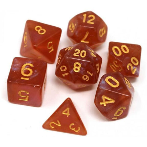 Die Hard Dice Polymer RPG Polyhedral Set - Autumn Equinox