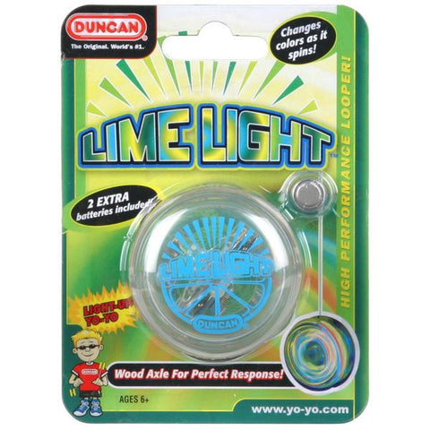 Duncan Yo Yo Beginner Lime Light (Assorted Colours)