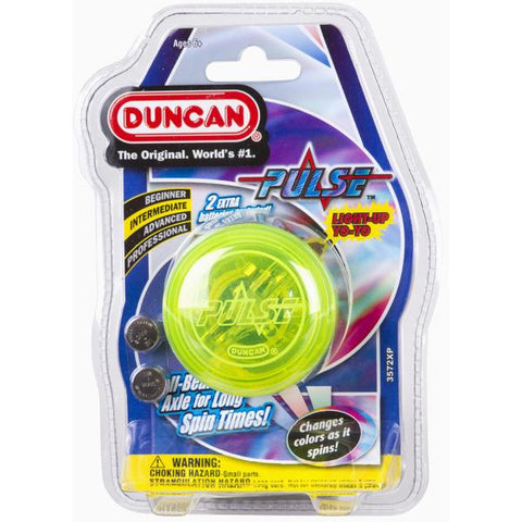 Duncan Yo Yo Intermediate Pulse (Assorted Colours)