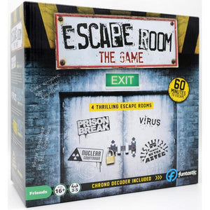 Escape Room The Game - 4 Rooms Plus Chrono Decoder