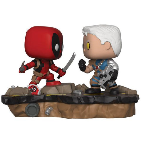 Deadpool - Deadpool vs Cable Comic Moments Pop! Vinyl