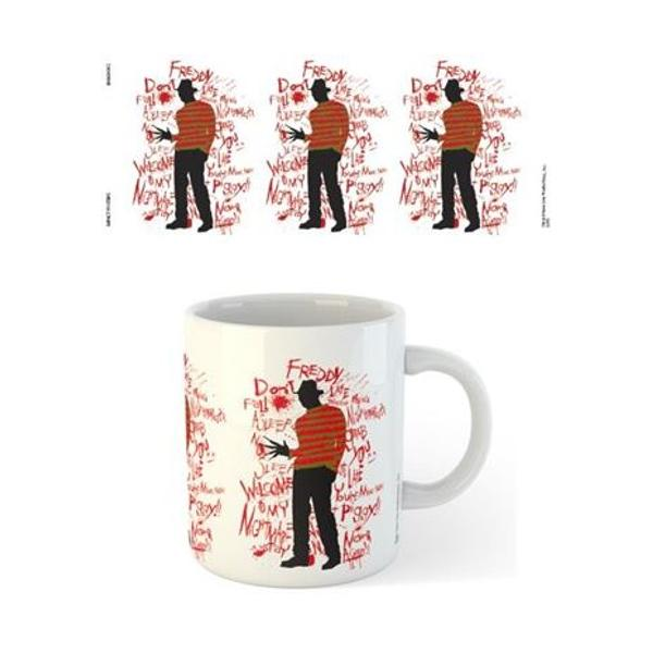 Nightmare On Elm Street - Text Coffee Mug