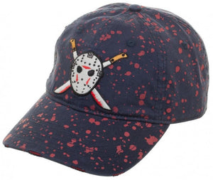 Friday The 13Th Blood Splatter Dad Hat