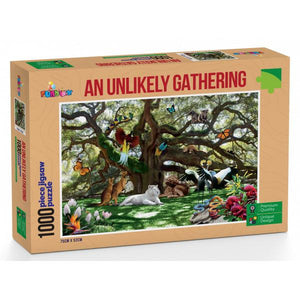 Funbox - An Unlikely Gathering Puzzle 1,000 pieces