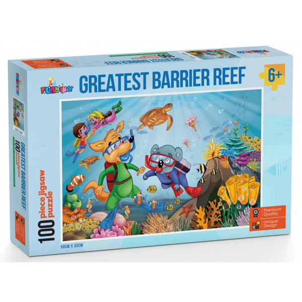 Funbox Puzzle Greatest Barrier Reef Puzzle 100 pieces