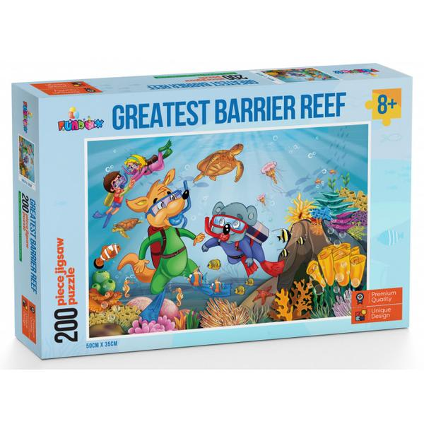 Funbox - Greatest Barrier Reef Puzzle 200 pieces