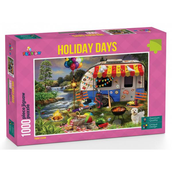 Funbox Puzzle Holiday Days Caravanning Puzzle 1,000 pieces
