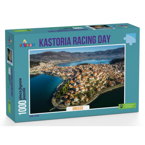Funbox Puzzle Kastoria Racing Day Greece Puzzle 1,000 pieces