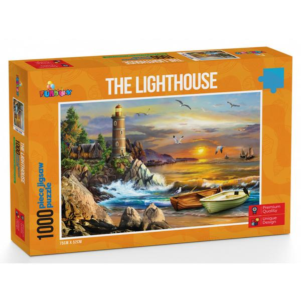 Funbox Puzzle Perfect Places the Lighthouse Puzzle 1,000 pieces