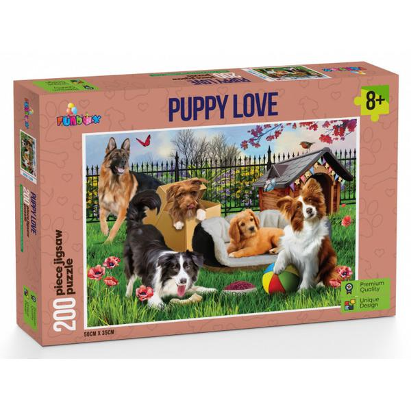 Funbox - Puppy Love Puzzle 200 pieces